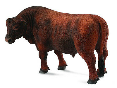 FREE SHIPPING | CollectA 88508 Red Angus Bull Realistic Toy - New in Package