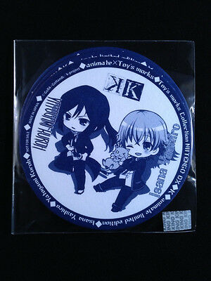 K Project Anime Paper Coaster set of 3 Toy's Works Animate Limited Edition New