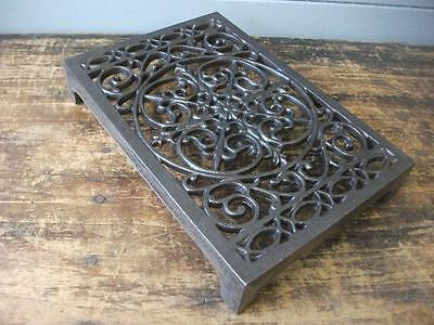 Cast Iron air Brick Vent Cast Air vent ORNATE  Pattern  inside / outside