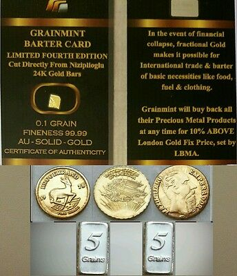 Lotto Monete Fdc Lingotti D'oro E In Argento Lot Of Coins Ingot Gold And Silver