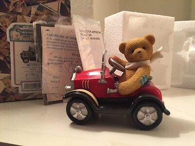 """Cherished Teddies: Roger """"You Set My Heart In Motion"""" New NIB Limited"""