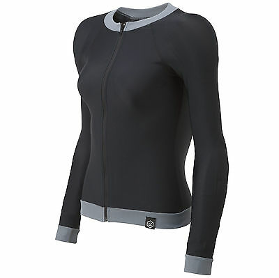 Knox Armoured CE Approved Body Armour Shirt Ladies Black Size 14