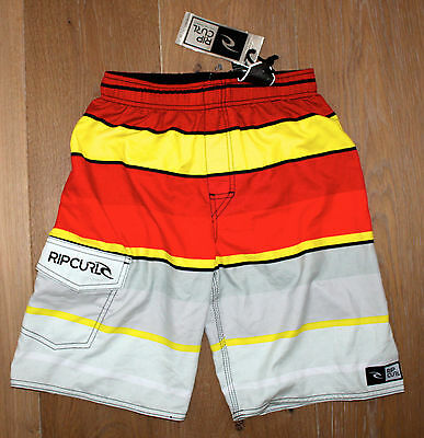 NEW RIP CURL BOYS KID'S YOUTH Amplify Volley BOARDSHORTS / SWIM TRUNKS -  SMALL