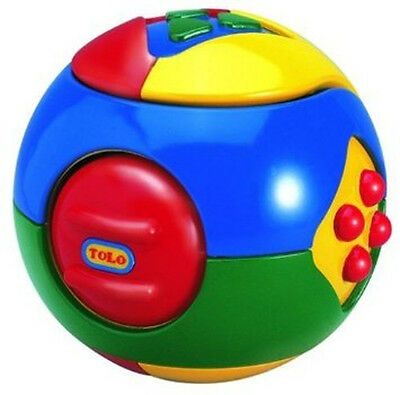 TOLO Puzzle Ball - 3 in 1 Activity Developmental Toy for Young Children 10.5cm