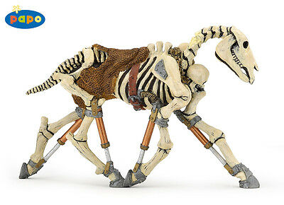NEW PAPO 38993 - Glow In The Dark Zombie Skeleton Horse - Fantasy Horror