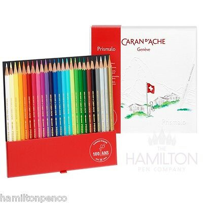 CARAN D'ACHE PRISMALO 100 YEAR ANNIVERSARY water soluble colour pencil set