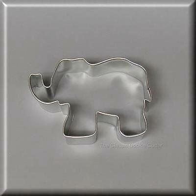 """3"""" Elephant Metal Cookie Cutter #nc6002"""