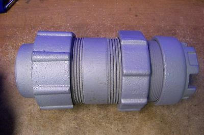 "NOS Appleton Electric XJ200-4 2"" Rigid Counduit Expansion Coupling, Threaded"