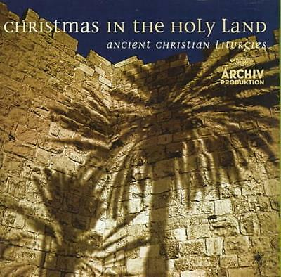 Christmas In The Holy Land: Ancient Christian Liturgies New Cd