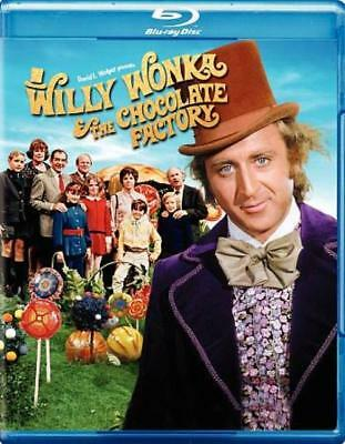 Willy Wonka And The Chocolate Factory New Blu-Ray