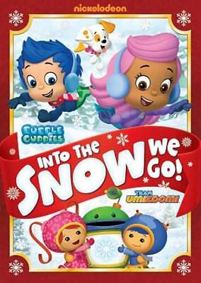 Bubble Guppies/team Umizoomi: Into The Snow We Go New Dvd