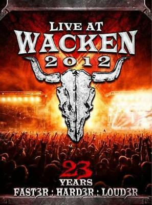Live At Wacken 2012: 23 Years Faster, Harder, Louder New Dvd