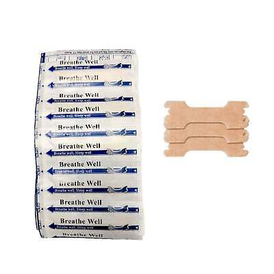 200 Nasal Strips Quality Anti Snoring Aid Snore Sleep Breath Breathe