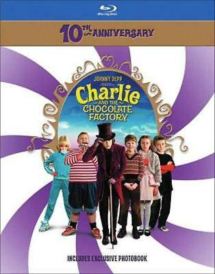 Charlie And The Chocolate Factory New Blu-Ray