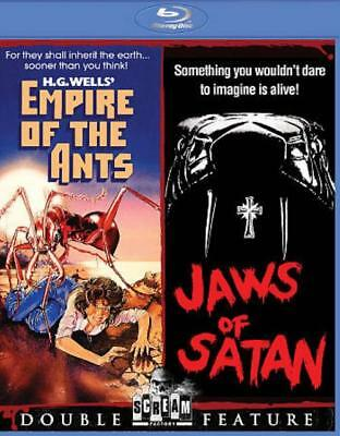 Empire Of The Ants/jaws Of Satan New Blu-Ray