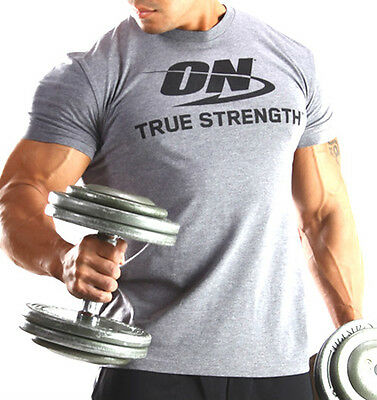 Optimum Nutrition ON Logo T-Shirt USA - True Strenght - M, L, XL