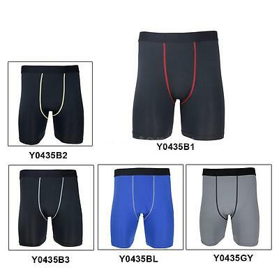 Men Compression Tight Base Layer Underwear Cycling Running Sport Football Shorts