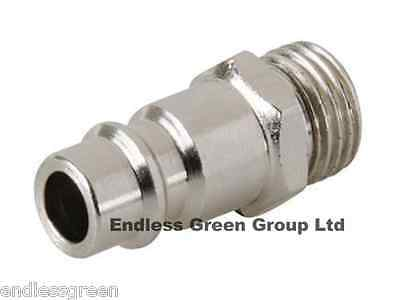 EURO AIRLINE FITTING - Air Compressor fitting - MALE ADAPTOR  1/4 BSP -  EU618