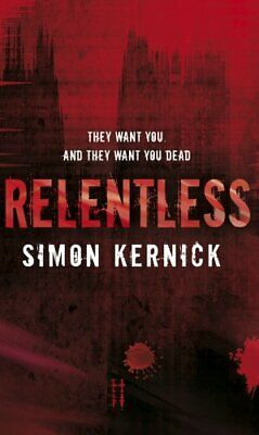 Relentless by Kernick, Simon Paperback Book The Cheap Fast Free Post