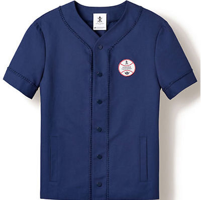 Adidas Opening Ceremony Baseball Glove Stitch Jersey NYC  F83469 Mens
