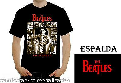 Camiseta The Beatles Antology T-Shirt Rock
