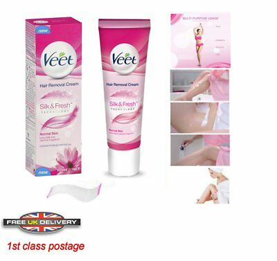 new Veet Hair Removal Cream with Lotus Milk and Jasmine for Normal Skin 100ml
