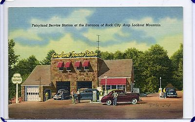 Fairyland Cities Services Gas Station,rock City Lookout Mountain-Chattanooga,tn