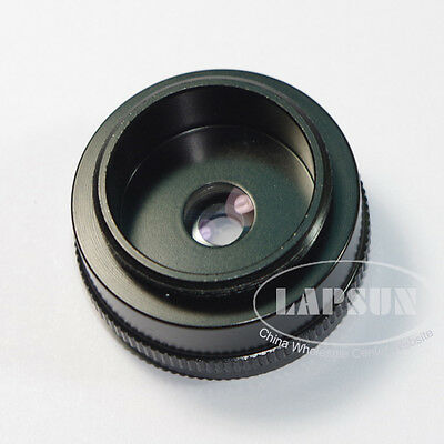 Mini 2X 25mm C-Mount Barlow Lens Adapter for Industry Microscope Camera Eyepiece