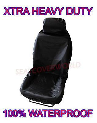 Peugeot Partner - Premium Quality Heavy Duty Black Waterproof Driver Seat Cover