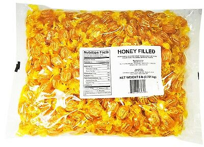 SweetGourmet Arcor Honey Filled Hard Candy-6Lb (Factory Sealed) FREE SHIPPING!