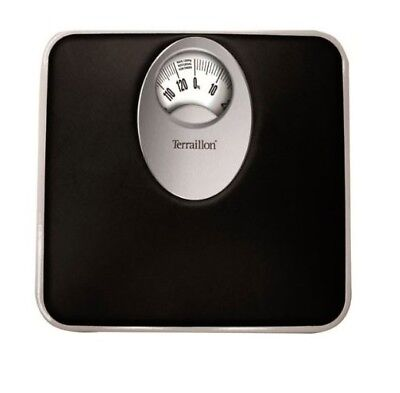 Terraillon T61 Mechanical Bathroom Scale with Magnified Display Black