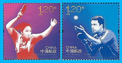 China Stamp, 2013-24 CH1324 Table Tennis, Ping Pong, Sport