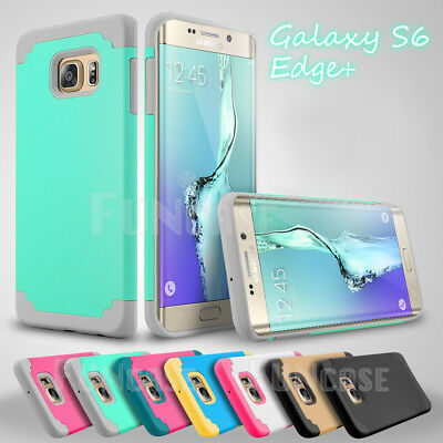 Shockproof Rugged Hybrid Rubber Hard Cover Case for Samsung Galaxy S6 edge edge+