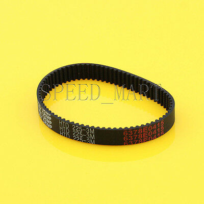225-3M HTD 3mm Timing Belt 75 Tooth Cogged Rubber Geared 10mm Wide CNC Drives