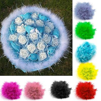 Lovely Artificial Women Feather 2M Plush Boa Unique Decor For Dance Ball Party