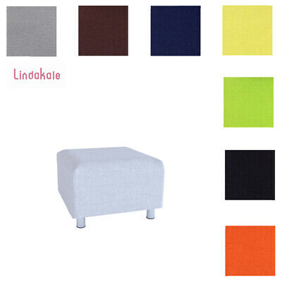 Custom Made Cover, Replacement Slipcover, Fits IKEA KLIPPAN Footstool