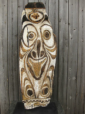 Outstanding Spirit Board Papua New Guinea Tribal Oceanic Png