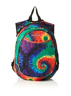 Obersee Kids All-in-One Pre-School Backpacks with Integrated Cooler, Tie Dye