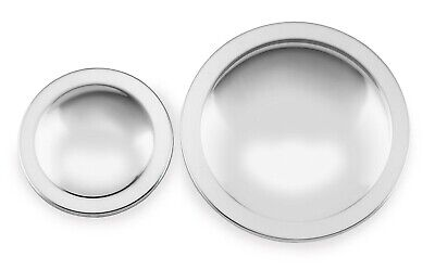 Belt Drives Ltd - MD-100 - Polished Domed Pulley Cover Kit~
