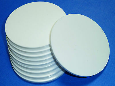 White / Black / Clear Laser Cut Plastic Circles 3Mm Thick Acrylic Discs + Film