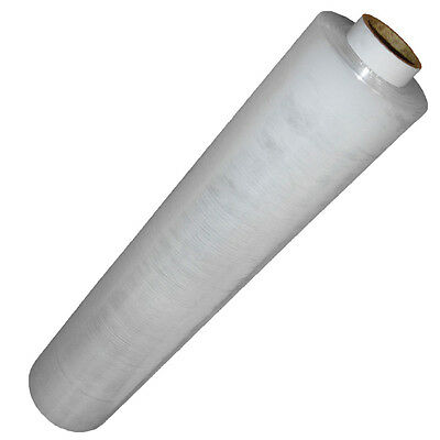 1 X ROLL OF CLEAR CORE'SUPER STRETCH Pallet Cling Film Wrap 400mmx250m NEW E760