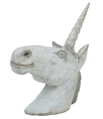 20Th Century Carved Head Of A Unicorn
