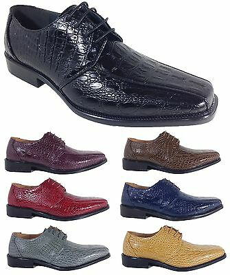 Parrazo Men Dress Shoes Wingtip Oxford Leather Lined Lace Up Black Brown Conrd
