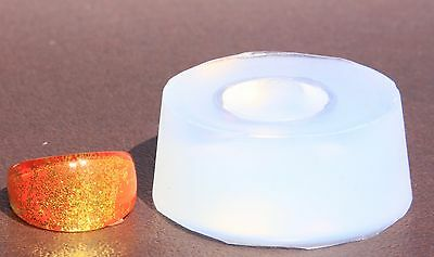 Clear handmade Silicone Mold for Ring size 7. 8.9 (302) Free USA Shipping.