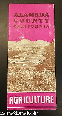 Alameda County, California Vintage Informational Booklet