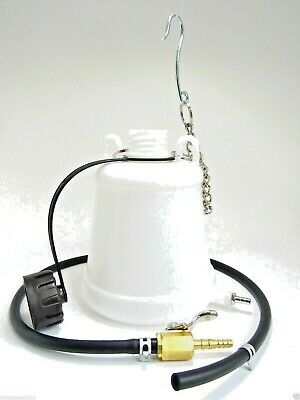 JMP Motorcycle Auxiliary Fuel Tank 1L Scooter Universal