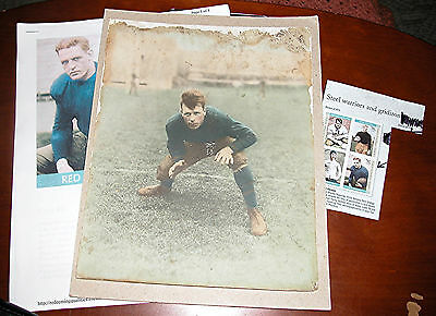 "1922 or 23 - Harold Edward ""Red"" Grange Photograph - ""The Galloping Ghost"""