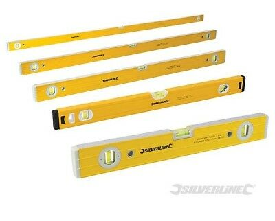 "Spirit Level 18"" 24"" 36"" 48"" 71"" Builders DIY Tools Milled Top"