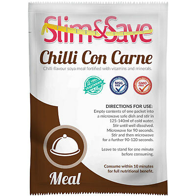 Slim & Save  ® VLCD / TFR Diet Meal Replacement Chilli Con Carne - NE-1VGCH
