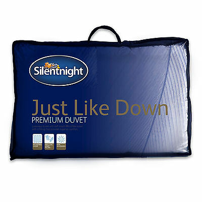 Silentnight Just Like Down Microfibre Duvet - 10.5 Tog - Single